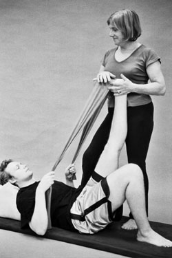 teaching pilates